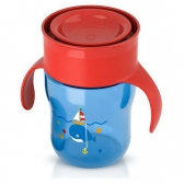 Avent Magična Šolja 260ml 9m - Blue/Red