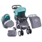Bertoni Kolica Apollo Set Grey&Green
