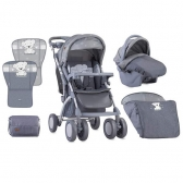Bertoni Kolica Toledo Set Grey My Teddy