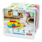 Dolu kocke Giant Bricks 24 kom