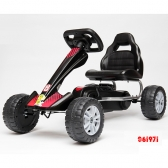 Karting formula na pedale MG-PC1801 crni