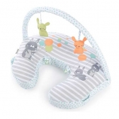 KIDS II JASTUK Plenti+ Nursing Pillow + Toy Bar - Hop Art 11821