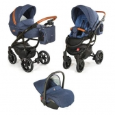Kolica 3u1 Grander Play Denim