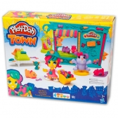 Playdoh Town set Pet shop