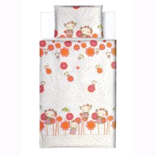 Dečija posteljina DEVOJČICE, 100x135 cm