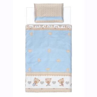 Dečija posteljina Plave MEDE,100x135 cm