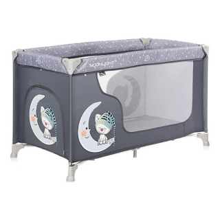 Bertoni krevet torba Moonlight 1 Nivo Grey Cute Moon
