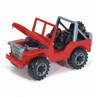 Bruder Cross Country Jeep / Džip Vilis crveni 02540