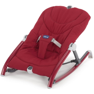 Chicco ležaljka Pocket Relax Red - crvena