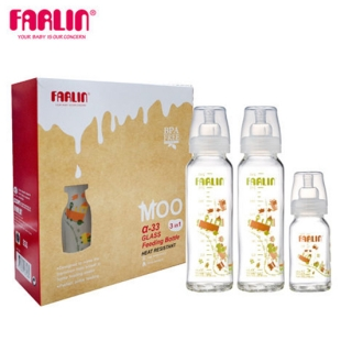 Farlin Set staklenih flasica-3/1 ZAP-005