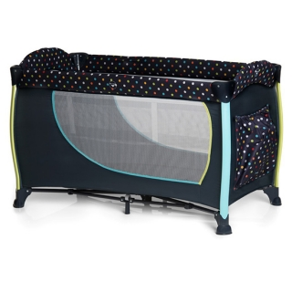 Hauck prenosivi krevetac Sleep n play Center 2 Multi Dots Navy