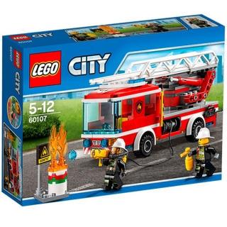 lego City Fire Ladder truck vatrogasni kamion 60107