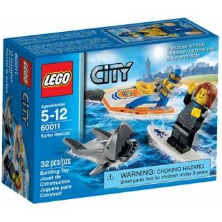 Lego City spasilačka služba / surfer rescue 60011