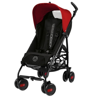 Peg Perego kolica Pliko Mini MOMO Design Red & Black